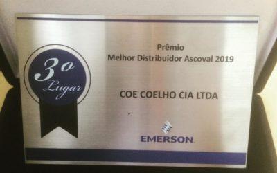 Casa Iracema recebe prêmio de Melhor Distribuidor Ascoval 2019