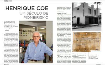 Revista Leitura Estratégica homenageia Henrique Coe, fundador da Casa Iracema