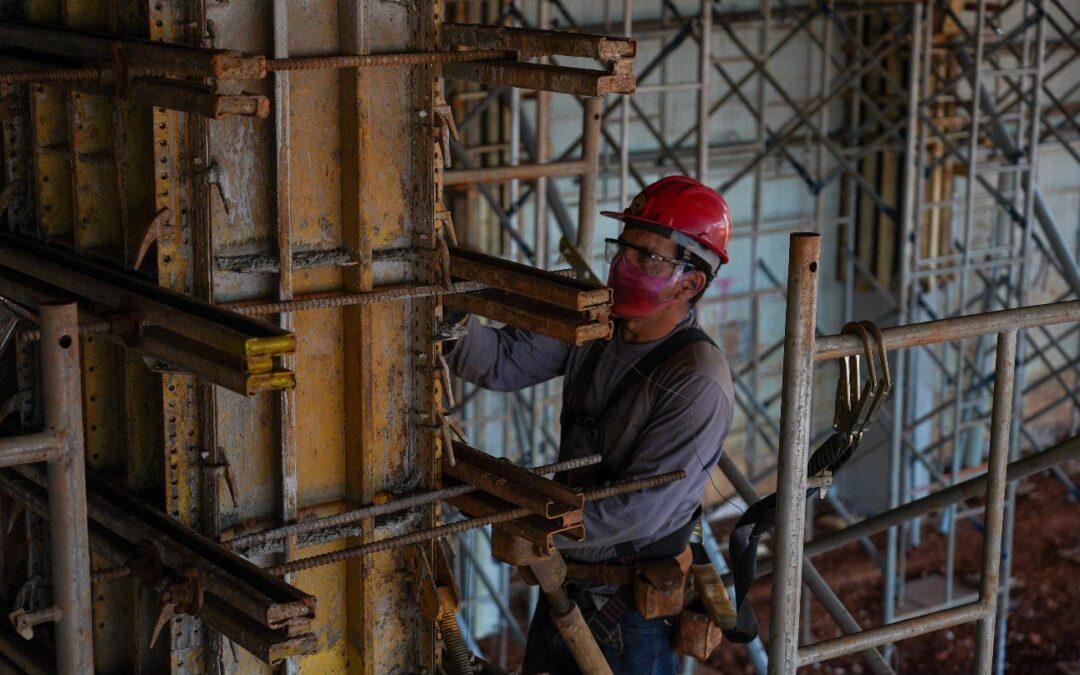 Construção civil: mais confiante e com mais otimismo em junho
