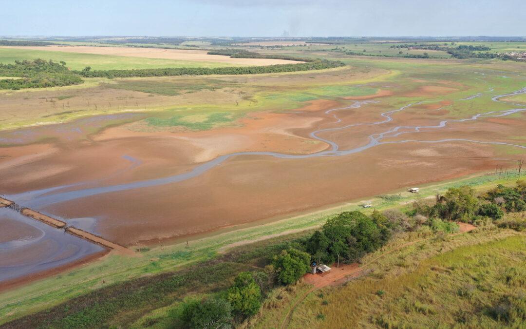 Superfície de água no Brasil reduz 15% desde o início dos anos 90